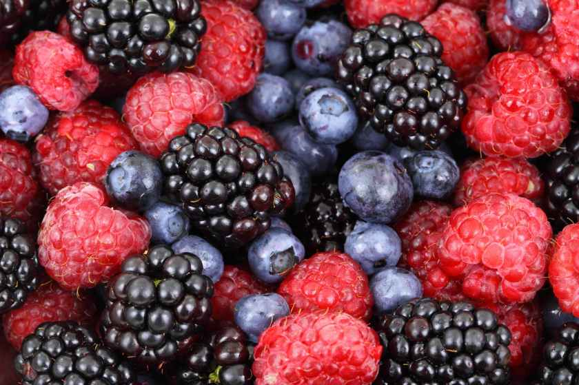 Blueberries and strawberries linked to slower cognitive decline.